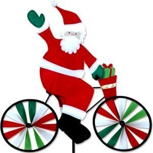 10 - 20 in Bike Spinner – Santa