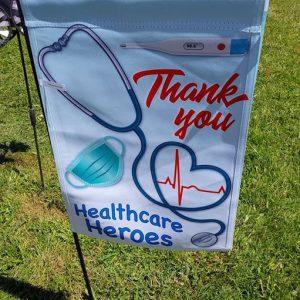 12 in. Flag – Healthcare Heroes