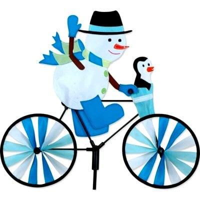 12 - 20 in Bike Spinner -Snowman