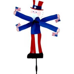 16 - 20 in WhirliGig Spinner – Uncle Sam