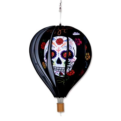 18 - 22 in Hot Air Balloon – Day of the Dead Black (1)