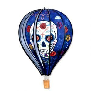19 - 22 in Hot Air Balloon – Day of the Dead Blue