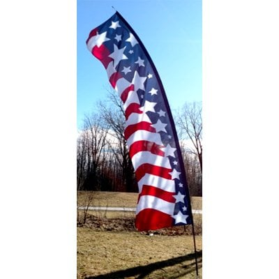 20′ USA Star Spangled Feather Banner