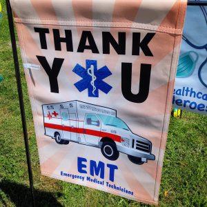 12 in. Flag – Thank You EMT