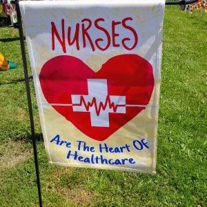 12 in. Flag – Nurses