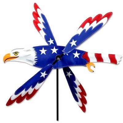 21 - 25 in WhirliGig Spinner – Patriotic Eagle
