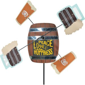 WhirliGig Spinner – Peace Love and Hoppiness