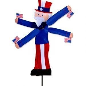 25 - 29 in WhirliGig Spinner – Uncle Sam