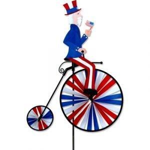 High Wheel Bike Spinner – Uncle Sam