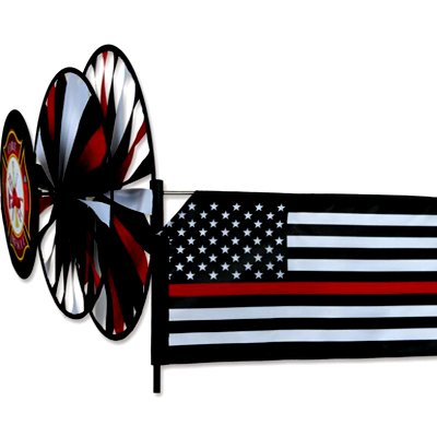 42 - Triple Spinner – Thin Red Line