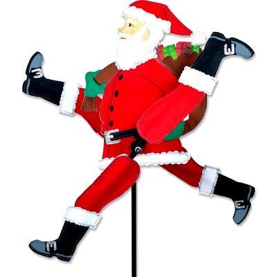 43 - WhirliGig Spinner – Running Santa