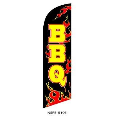 (6) BBQ Banner Only