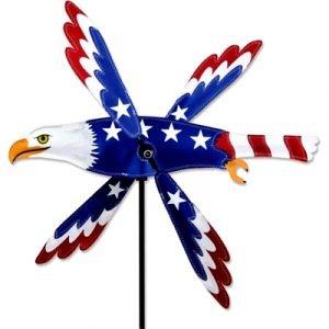 7 - 18 in WhirliGig Spinner – Patriotic Eagle