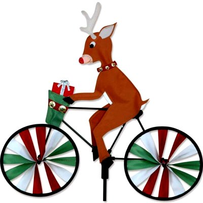 9 - 20 in Bike Spinner – Reindeer