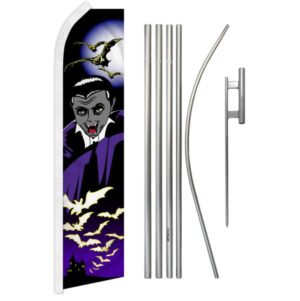 Halloween Vampire Feather Banner Packages