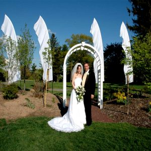Wedding Feather Banners