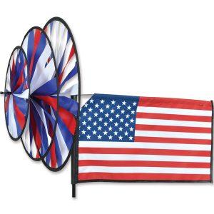 Triple Spinner – American Flag