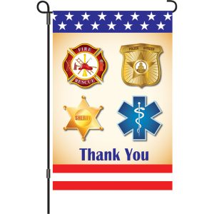 12 in. Flag – First Responders